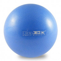Пилатес-мяч Inex Pilates Foam Ball,19 см, голубой, PFB19